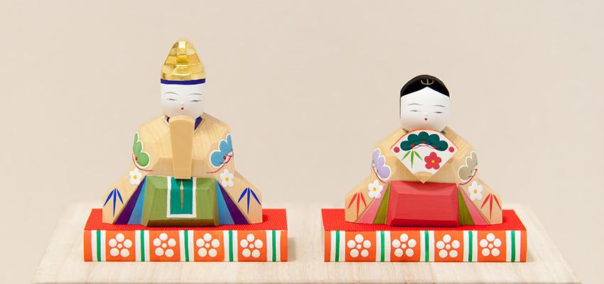 伊予比奈 うらら(内裏雛・台付き)