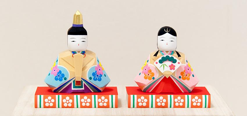 南雲 ひな人形 段飾り 伊予比奈 春風(内裏雛)