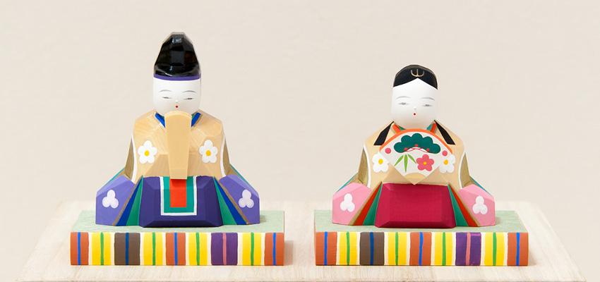 南雲 ひな人形 段飾り 花月(内裏雛の台付き)