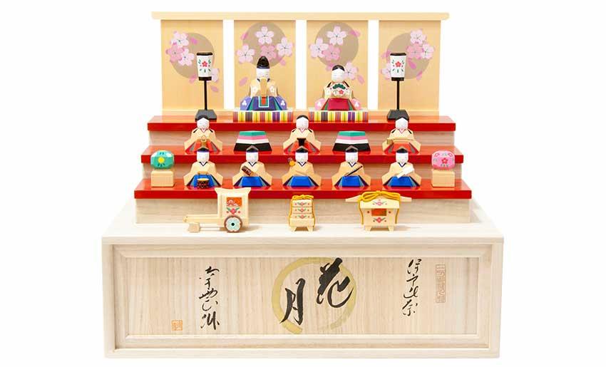 雛人形 花月(お輿入れ道具セット)
