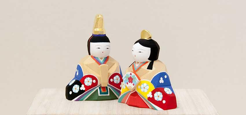 南雲作 ひな人形「明莉」5人飾り(人形)純金箔加工の冠