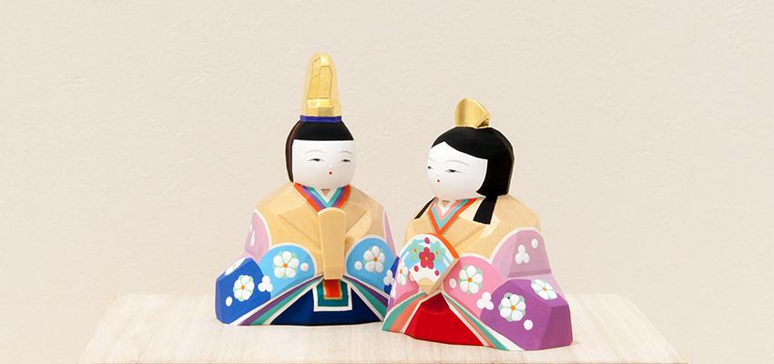 南雲作 ひな人形「明莉」10人飾り(純金箔使用)